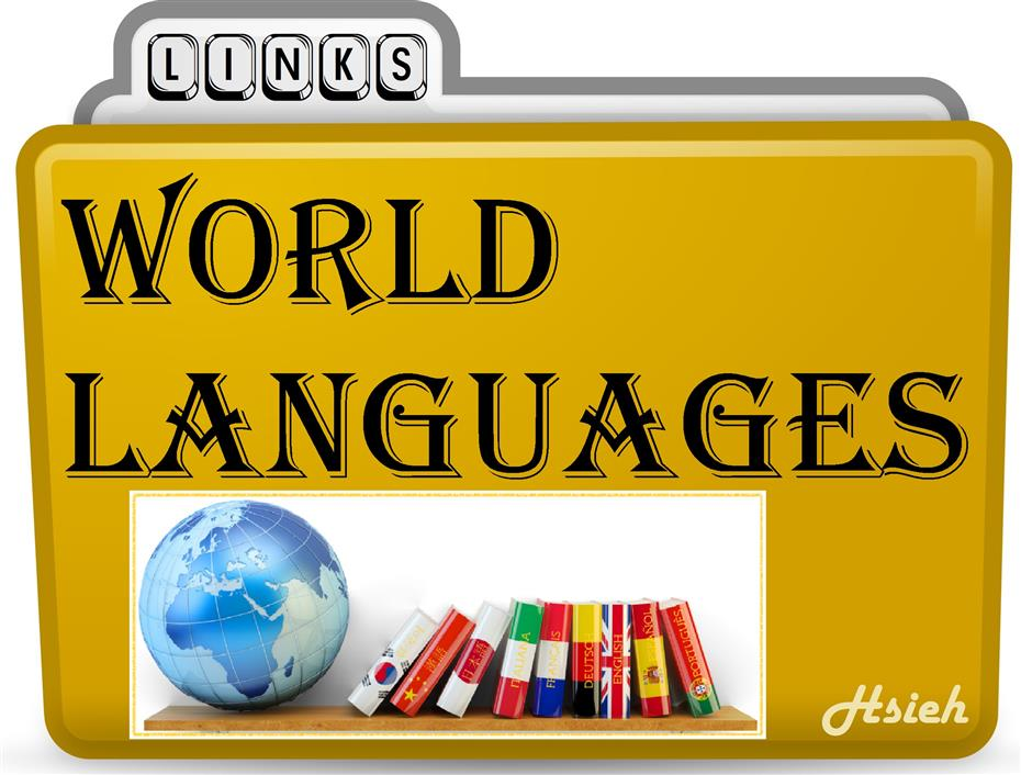 Learn World Languages Links Folder