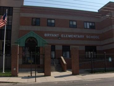Bryant School Building Front Entrance
