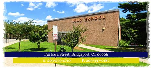 Picture of Read School. School phone number 203-275-4710