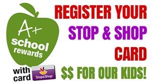 Register you stop & shop card