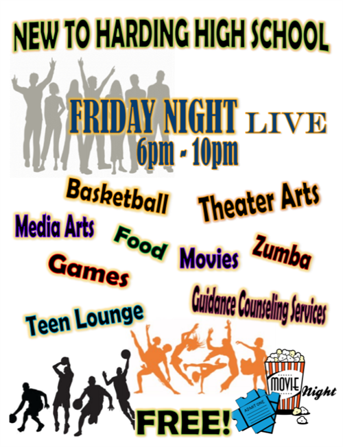 Flyer - Friday Nights