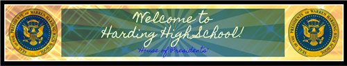 Welcome to Harding High School, House of Presidents