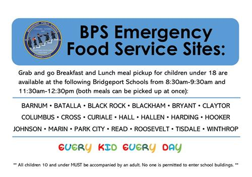 BPS Emergency Food Services Sites