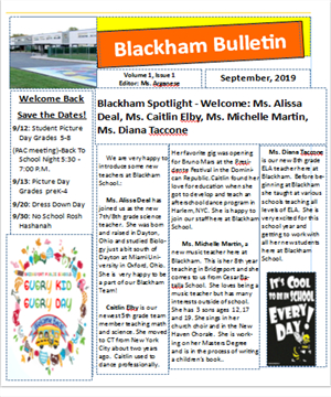 Blackham Bulletin