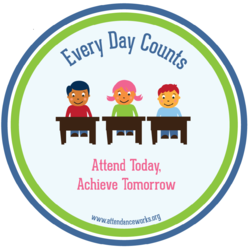 Every day counts- be in school