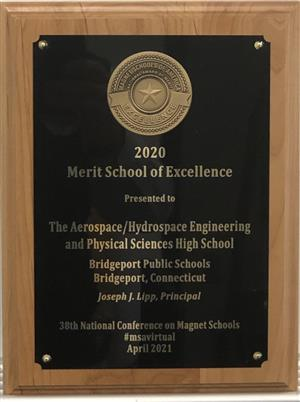 Magnet Schools of America School of Excellence Award 2020