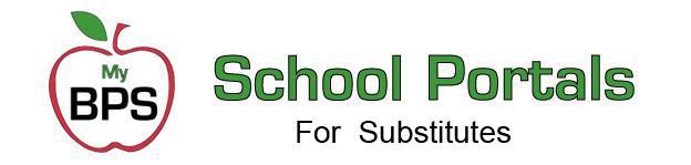 BPS School Portals for Substitutes