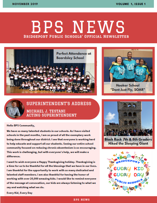 BPS News, Volume 1, Issue 1