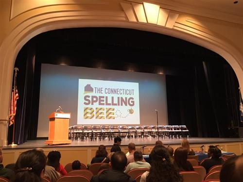 Connecticut Spelling Bee Stage