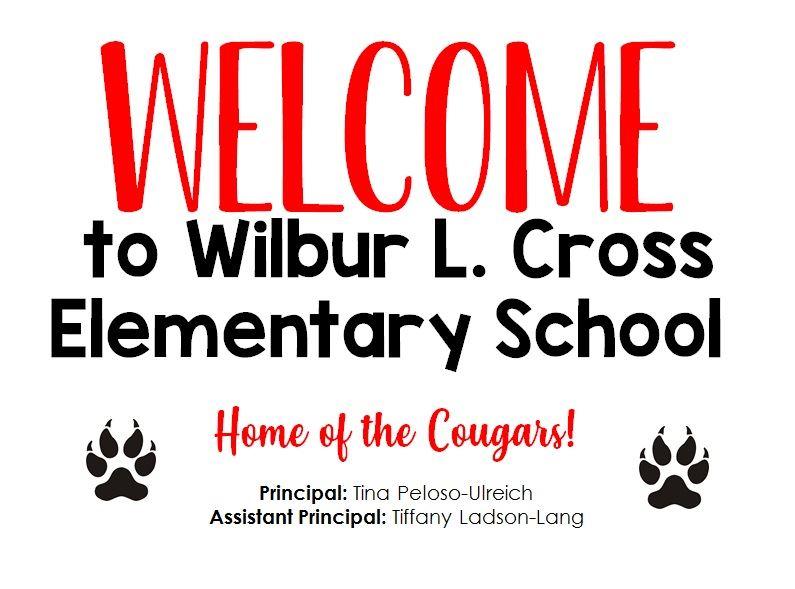 Welcome to Wilbur L. Cross Elementary School!