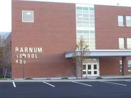 Main Entrance To Barnum School