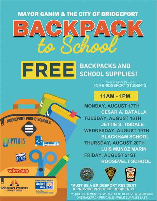 Backpack event